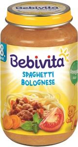 Bebivita Spaghetti Bolognese ab 8. Monat 220 g