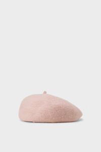 Baskenmütze mit Wolle