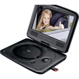 LENCO DVP 9463 BK Tragbarer DVD-Player, Schwarz