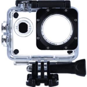 ROLLEI 20616, Unterwassergehäuse, Transparent, passend für Rollei Actioncam 4s Plus
