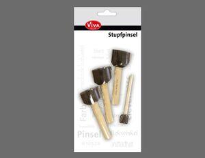 Stupfpinsel 4er Set
