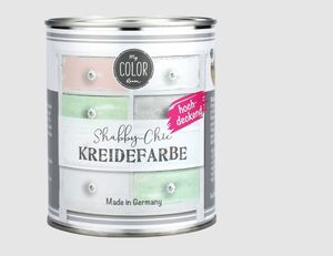 Shabby-Chic Kreidefarbe rauchblau