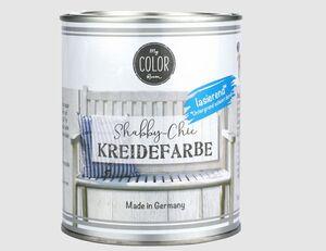Shabby-Chic Kreidefarbe muschelweiß