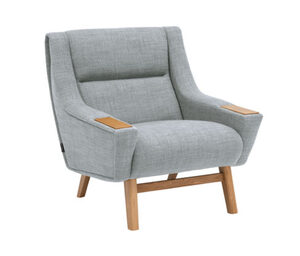 Max Winzer®-Loungesessel »Heddy«, helles Graublau
