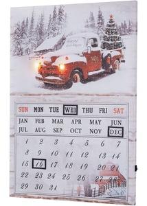 Kalender mit LED