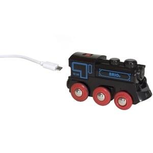 BRIO - Akku-Lok mit Mini-USB, schwarz