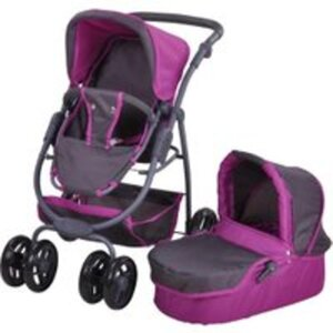 knorr toys Puppenwagen Coco tec purple