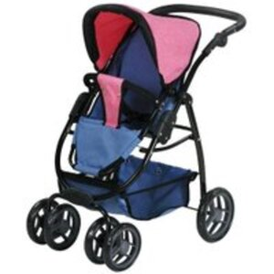 knorr toys Puppenwagen Coco Jeans-grau