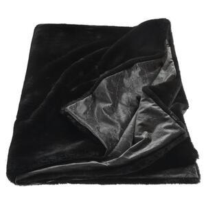 Joop! Felldecke 130/170 cm schwarz , J-Smooth 70692-002-130-170 , Textil , Uni , 130x170 cm , 003021089102