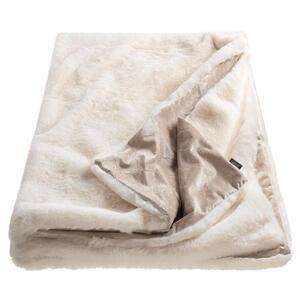 Joop! Plaid 130/170 cm creme, weiß , J-Smooth 70692-001-130-170 , Textil , Uni , 130x170 cm , 003021089101