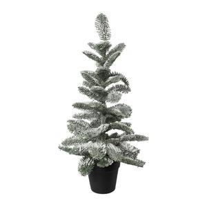 X-Mas Kunstpflanze tanne , 1120703Lo-44 , Grün, Weiß , Kunststoff , 67 cm , inkl. Topf , 004297231101