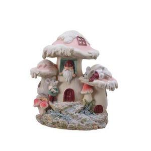 X-Mas Spardose , 530569 , Rosa, Weiß, Altrosa , Kunststoff , 17x18x12 cm , lackiert , 003754175101