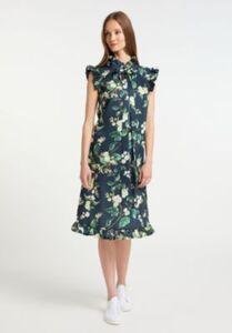 Kleid Stillkleider bunt Gr. 34 Damen Erwachsene