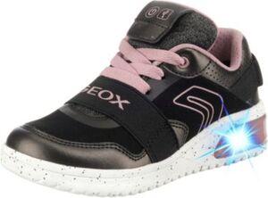 Sneakers High  mit LED Sohle schwarz Gr. 31 Mädchen Kinder