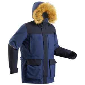 Parka Arctic Trekking 500 unisex X-Warm blau
