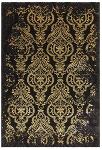 Teppich »Bahar«, merinos, rechteckig, Höhe 12 mm, Vintage Design, Hoch-Tief-Struktur