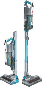 Hoover Akku-Hand-und Stielstaubsauger H-FREE 500 Hydro, HF522YSP Akku-Staubsauger, 2 in 1, Saugen & Wischen, Laufzeit bis zu 45 Min., beutellos, kompakt, 2,2 Watt, beutellos, Schnellladen