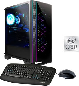 Hyrican Nova 6554 Gaming-PC (Intel 10700F Core i7, RTX 2060 SUPER, 16 GB RAM, 1000 GB HDD, 480 GB SSD, Luftkühlung, inkl. Office-Anwendersoftware Microsoft 365 Single im Wert von 69 Euro)