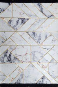 Teppich »Marieyella«, Leonique, rechteckig, Höhe 5 mm, Marmor-Optik