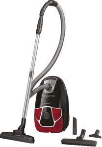 Rowenta Bodenstaubsauger RO6859 Silence Force Allergy+ Parkett, 450 Watt, mit Beutel, Permanenter Hochleistungsfilter
