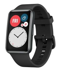 Huawei Watch Fit graphite black Smartwatch (GPS, Bluetooth, Herzfrquenzüberwachung, Schlafüberwachung, bis zu 10 Tage Akkulaufzeit, Wasserdicht, schwarz)
