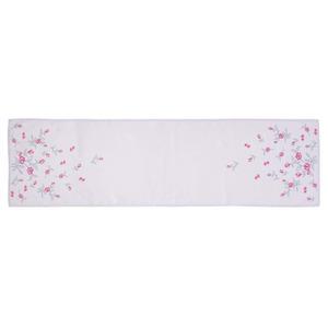 Tischläufer mit schönen Blumenranken, ca. 40x140cm