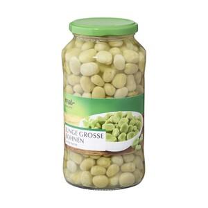 Junge große Bohnen weiße Kerne oder Kidneybohnen und weitere Sorten 720/850-ml-Glas/Dose/420/420/450/395 g Abtropfgewicht
