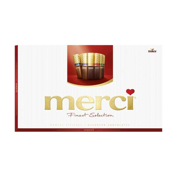 merci Finest Selection jede 400-g-Packung