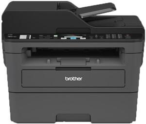 BROTHER MFC-L2710DW schwarz Multifunktionsdrucker (Schwarzweiß-Laserdrucker, 4-in-1, Scanner, Kopierer, Fax, WLAN, LAN, USB 2.0, Duplex, MFCL2710DWG1)
