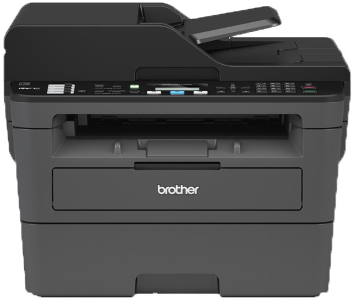 Bild 1 von BROTHER MFC-L2710DW schwarz Multifunktionsdrucker (Schwarzweiß-Laserdrucker, 4-in-1, Scanner, Kopierer, Fax, WLAN, LAN, USB 2.0, Duplex, MFCL2710DWG1)