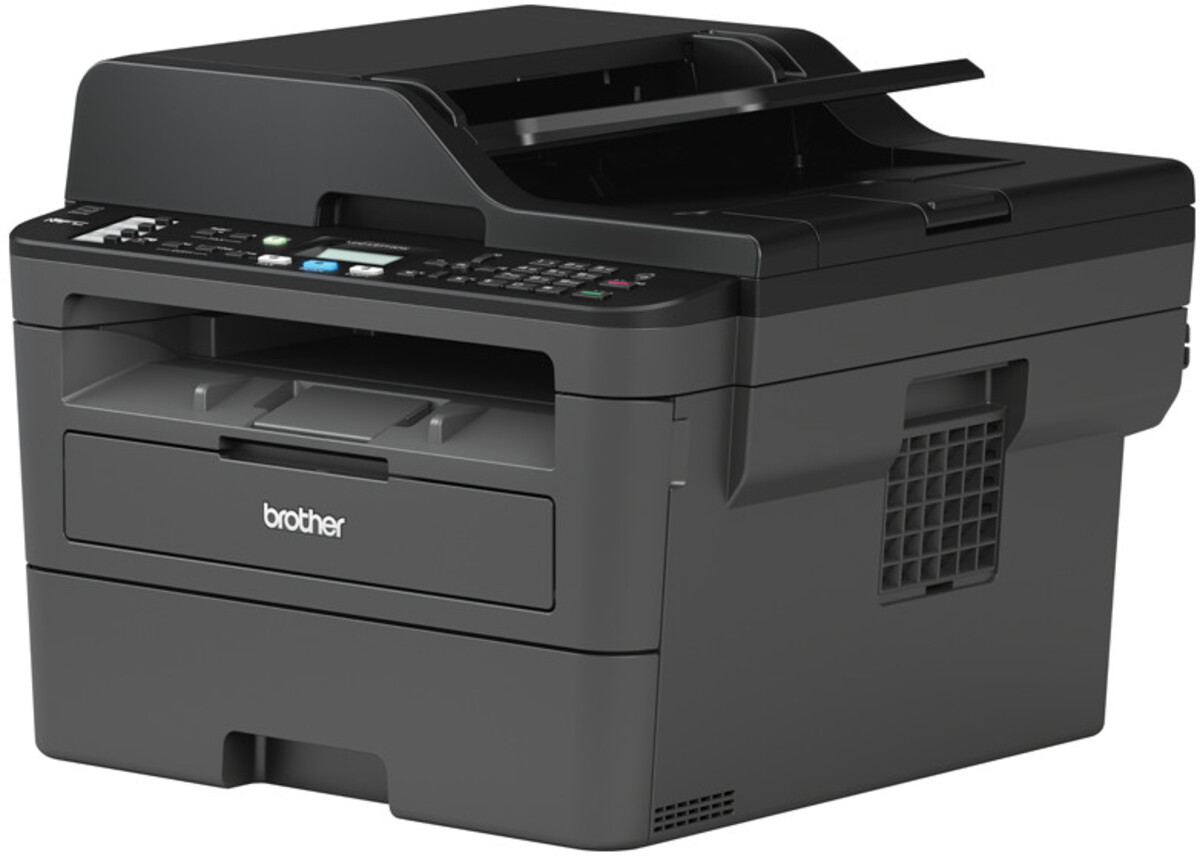 Bild 2 von BROTHER MFC-L2710DW schwarz Multifunktionsdrucker (Schwarzweiß-Laserdrucker, 4-in-1, Scanner, Kopierer, Fax, WLAN, LAN, USB 2.0, Duplex, MFCL2710DWG1)