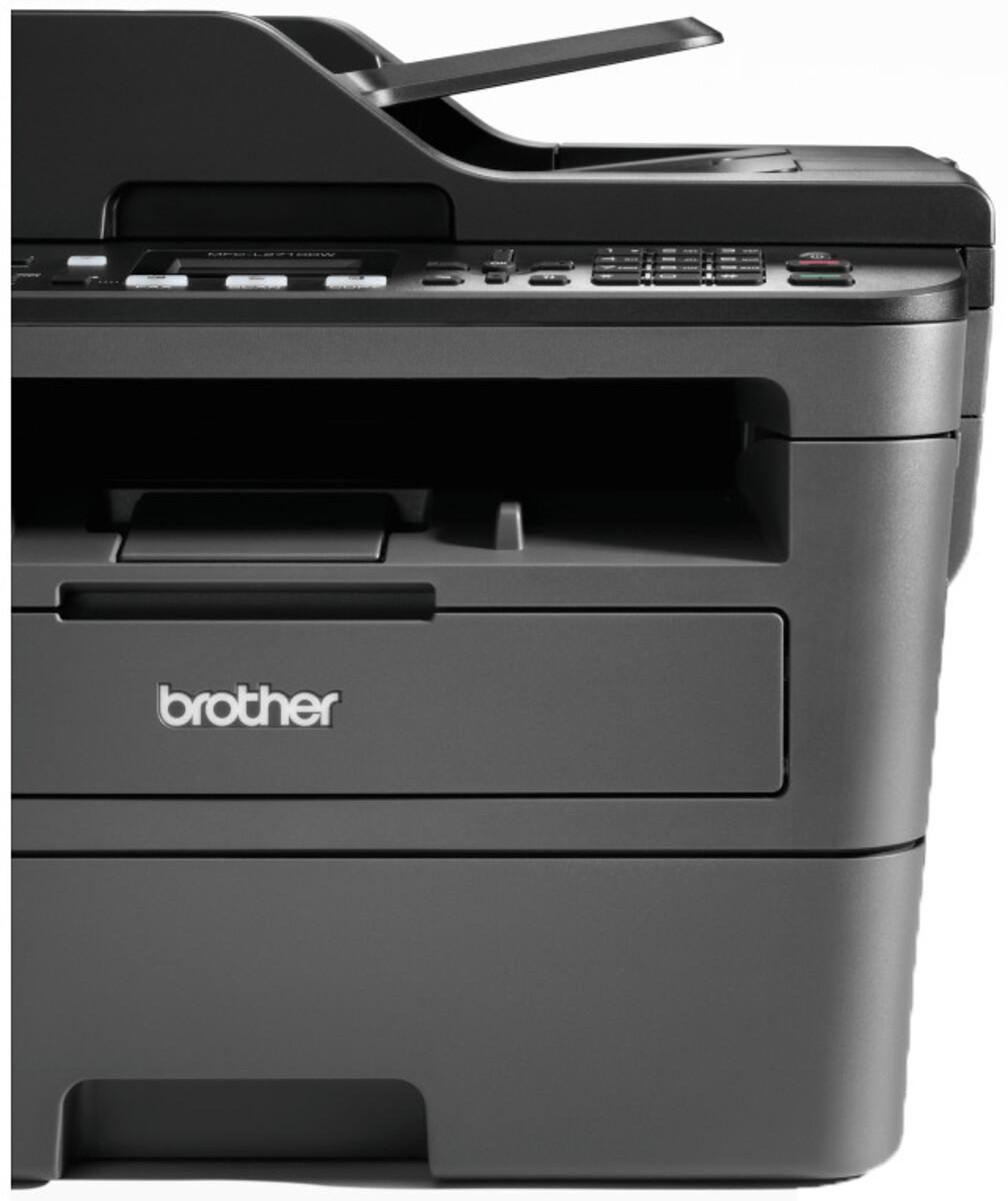 Bild 4 von BROTHER MFC-L2710DW schwarz Multifunktionsdrucker (Schwarzweiß-Laserdrucker, 4-in-1, Scanner, Kopierer, Fax, WLAN, LAN, USB 2.0, Duplex, MFCL2710DWG1)