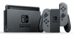 NINTENDO Switch grau Switch Spielkonsole