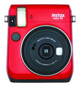 FUJIFILM Instax Mini 70 rot Sofortbildkamera