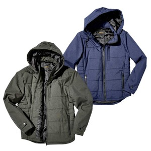 Herren Jacke mit abnehmbarer Kapuze, Farbe: navy, anthrazit oder olive, Größe: S - XXL, Größen: 3XL - 5XL 49,95 €