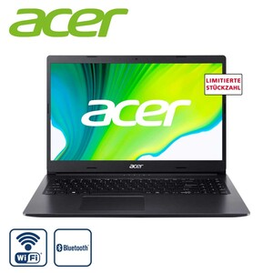 "Notebook Aspire 3 A315-23R7S8 · Acer ComfyView Full HD Display mit LED-Backlight (matt) · AMD Athlon Silver 3050U (bis zu 3,2 GHz) · AMD Radeon Graphics · Acer Webcam  Bildschirmdiagonale: 15,6""/"
