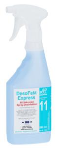 DesoFekt Express Schnell Desinfektion 60 Sekunden 500ml Sprayer