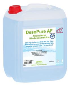 DesoPure AF alkoholische Hände Desinfektion 5000ml - Verpackung ähnlich, Bild kann abweichen
