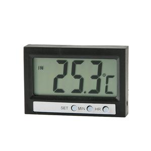 Digitales Innen- und Außenthermometer mit Uhr von Norauto, 1 Stück