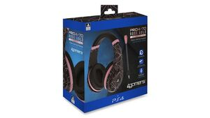 Sony Stereo Gaming Headset Rose Gold.Ed.-Abstract Black