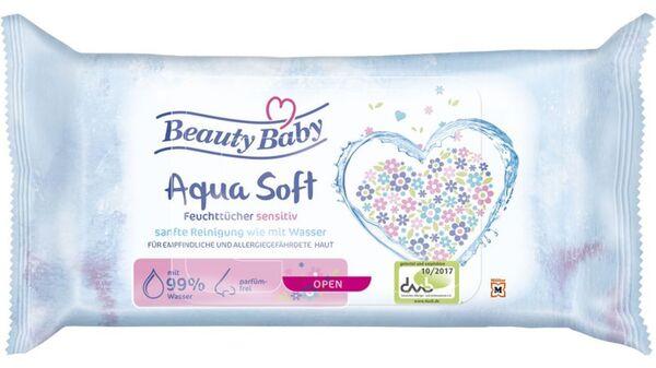 Beauty Baby Comfort-Feuchttücher 99% Wasser