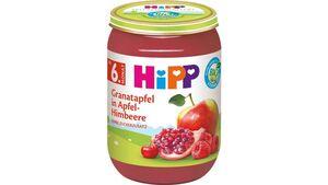HiPP Bio Granatapfel in Apfel-Himbeere