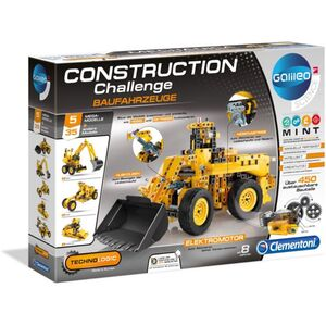 Galileo - Construction Challenge - Baufahrzeuge - Clementoni