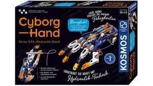 KOSMOS - Experimentierkasten - Cyborg-Hand - Deine XXL-Hydraulik-Hand