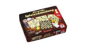 Schmidt Spiele - Spielesammlungen - Die große Spielesammlung, Metalldose.