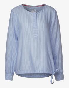 Street One - Bluse mit feinen Streifen