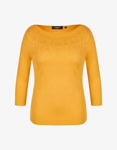 Bexleys woman - Shirt mit Strassbesatz