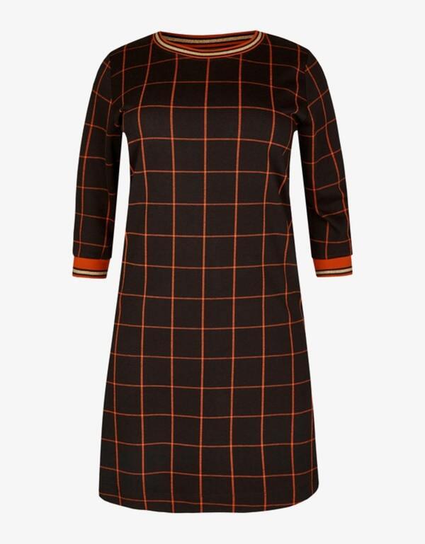 VIA APPIA DUE - Kleid mit Karo-Muster