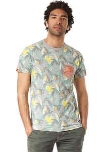 SUPERDRY Aop Ticket Type Pkt Lite - T-Shirt für Herren - Mehrfarbig