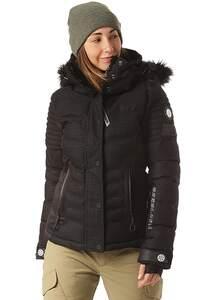 SUPERDRY Luxe Snow Puffer - Skijacke für Damen - Schwarz